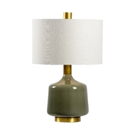Wildwood Lighting Tremont Lamp - Olive 21759 Ceramic