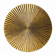 Arteriors Apollo Large Plaque 2661 in Yellow - Brass Sheet