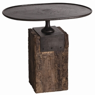 Arteriors Home Anvil Oval Tea Table DD2027 in Brown-Wood