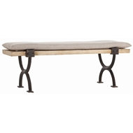 Arteriors Home Atlas Bench Cocktail Table DD2016 in Brown-Wood