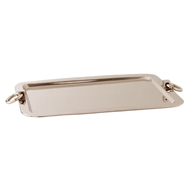 Arteriors Home Bordeaux Large Tray 2503 Gray - Steel