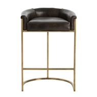 Arteriors Home Calvin Bar Stool 2803 - Leather