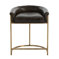 Arteriors Home Calvin Counter Stool 2804 - Leather