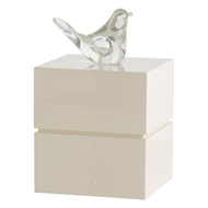 Arteriors Home Dove Small Box DK9952 in Neutral-Resin