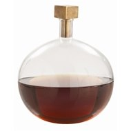 Arteriors Home Edgar Cube Stopper Decanter