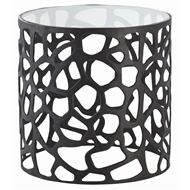 Arteriors Home Ennis Side Table 6598 - Aluminum