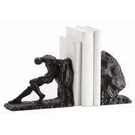 Arteriors Home Jacque Bookends Set of 2 3127 Black - Iron