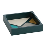 Arteriors Home Mondrian Small Tray DJ2032 in Green-Wood