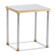 Arteriors Home Pax Side Table DS2003 - Steel