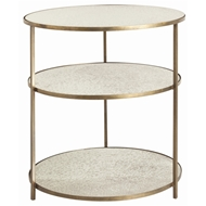 Arteriors Home Percy Side Table 6553 - Brass