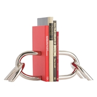 Arteriors Home Reed Bookends Pair 6973 Gray - Steel