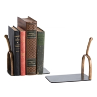 Arteriors Home Spurs Bookends Pair 2616 Black - Iron