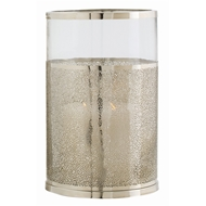 Arteriors Lighting Bombay Small Hurricane 2497 Gray - Steel