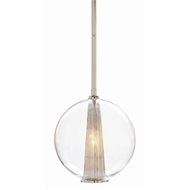 Arteriors Lighting Caviar Adjustable Medium Pendant DK49911 in Clear-Glass