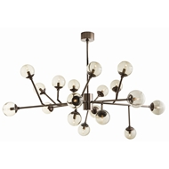 Arteriors Lighting Dallas Chandelier 89981 - Steel