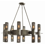 Arteriors Lighting Dirk Fixed Chandelier 89994 - Steel