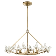 Arteriors Lighting Dove Chandelier DK89951 - Steel