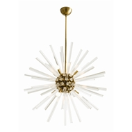 Arteriors Lighting Hanley Large Chandelier 89012 - Glass