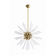 Arteriors Lighting Hanley Small Chandelier 89011 - Glass