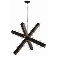 Arteriors Lighting Harding Chandelier 89985 - Steel