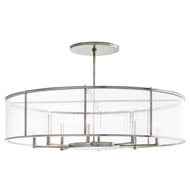Arteriors Lighting Hera Oval Chandelier DS89001 - Steel
