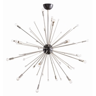Arteriors Lighting Imogene Large Chandelier 89978 - Steel