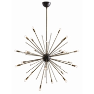 Arteriors Lighting Imogene Large Chandelier 89979 - Steel