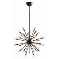 Arteriors Lighting Imogene Small Chandelier 89976 - Steel