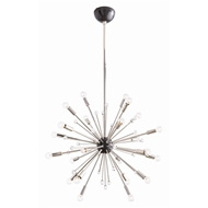 Arteriors Lighting Imogene Small Chandelier 89977 - Steel