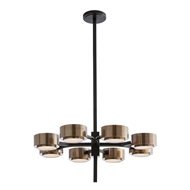 Arteriors Lighting Jalen Chandelier 89974 - Steel