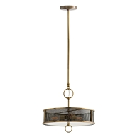 Arteriors Lighting Jax Pendant 49981 - Steel