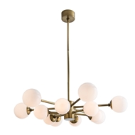 Arteriors Lighting Karrington Chandelier 89016 - Steel