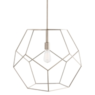 Arteriors Lighting Mara Large Pendant 41004 - Steel
