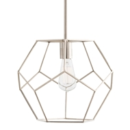 Arteriors Lighting Mara Small Pendant 41003 - Steel