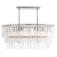Arteriors Lighting Nessa Chandelier 89009 - Glass