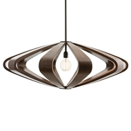 Arteriors Lighting Remus Large Pendant 45103 - Wood