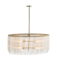 Arteriors Lighting Royalton Oval Chandelier 49980 - Steel