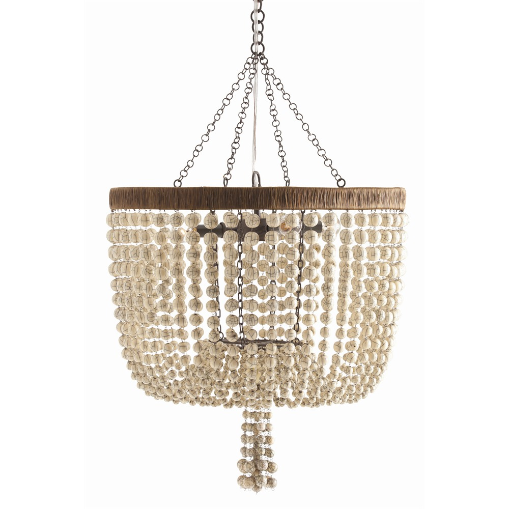Arteriors Lighting Viola Chandelier 86764 - Resin
