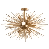 Arteriors Lighting Zanadoo Fixed Chandelier 89967 - Steel
