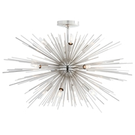 Arteriors Lighting Zanadoo Fixed Chandelier 89968 - Steel