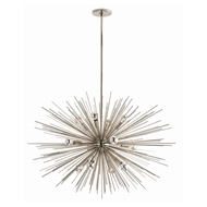 Arteriors Lighting Zanadoo Large Chandelier 89989 - Steel