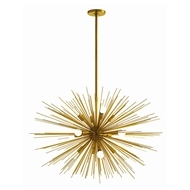 Arteriors Lighting Zanadoo Large Chandelier 89991 - Steel