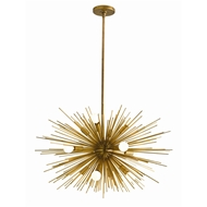 Arteriors Lighting Zanadoo Small Chandelier 89669 - Steel