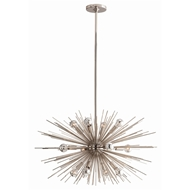 Arteriors Lighting Zanadoo Small Chandelier 89670 - Steel