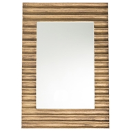 Arteriors Nicola Small Mirror 6402 in Yellow - Brass Sheet