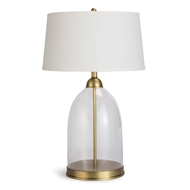 Regina Andrew Lighting Glass Dome Table Lamp - Natural Brass