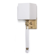 Regina Andrew Lighting Crystal Tail Sconce - Natural Brass