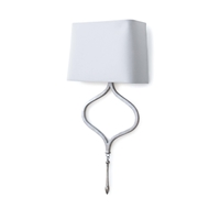 Regina Andrew Lighting Duchess Sconce - Silver Leaf