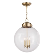 Regina Andrew Lighting Globe Pendant - Natural Brass 16-1004NB