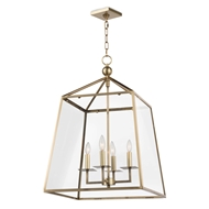 Regina Andrew Lighting Cachet Lantern - Natural Brass